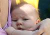 новорожденный отказывается от груди