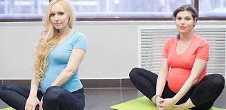 гимнастика для беременных видео