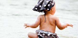 плавание для новорожденных