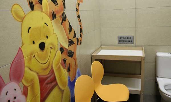 галерея обзор комнат матери и ребенка в тц новосибирска